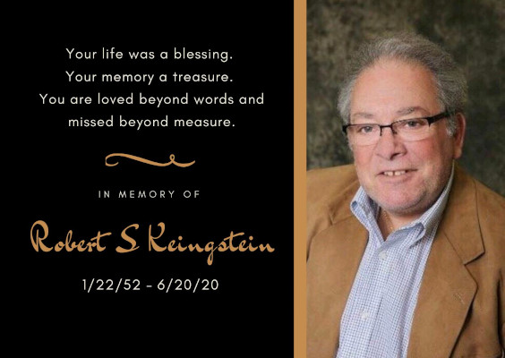 PRSM/Connex member Bob Keingstein passes away