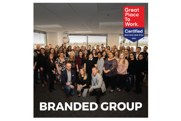 Branded Group Receives Great Place to Work® Certification for the Second Year