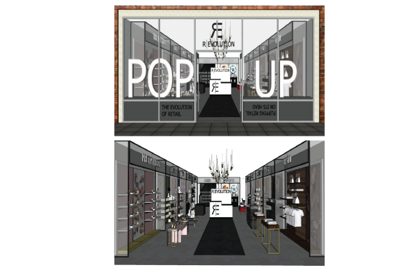 Experts in Experiential Pop-Ups Create a New R_Evolution – Flipping Retail on Its Head