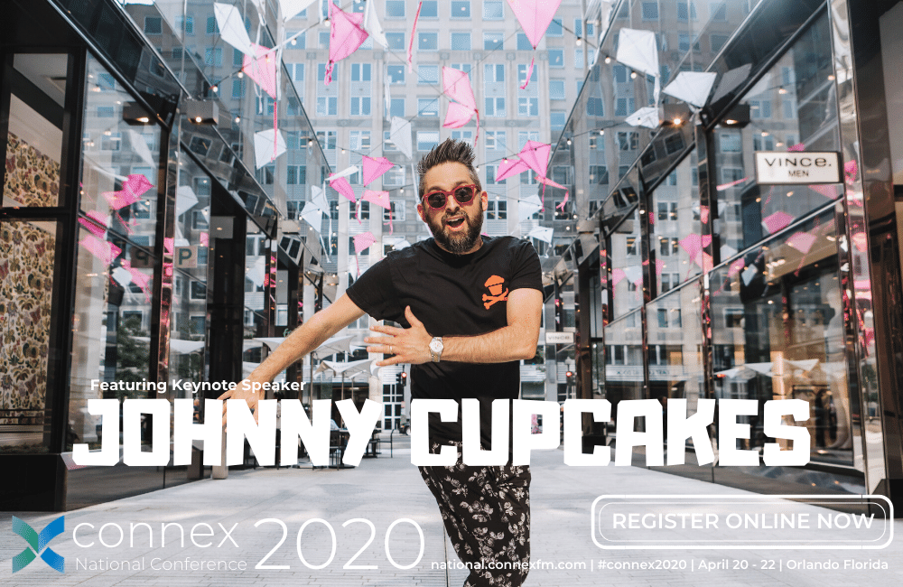 CONNEX2020 PRSM National Conference featuring Johnny Cupcakes